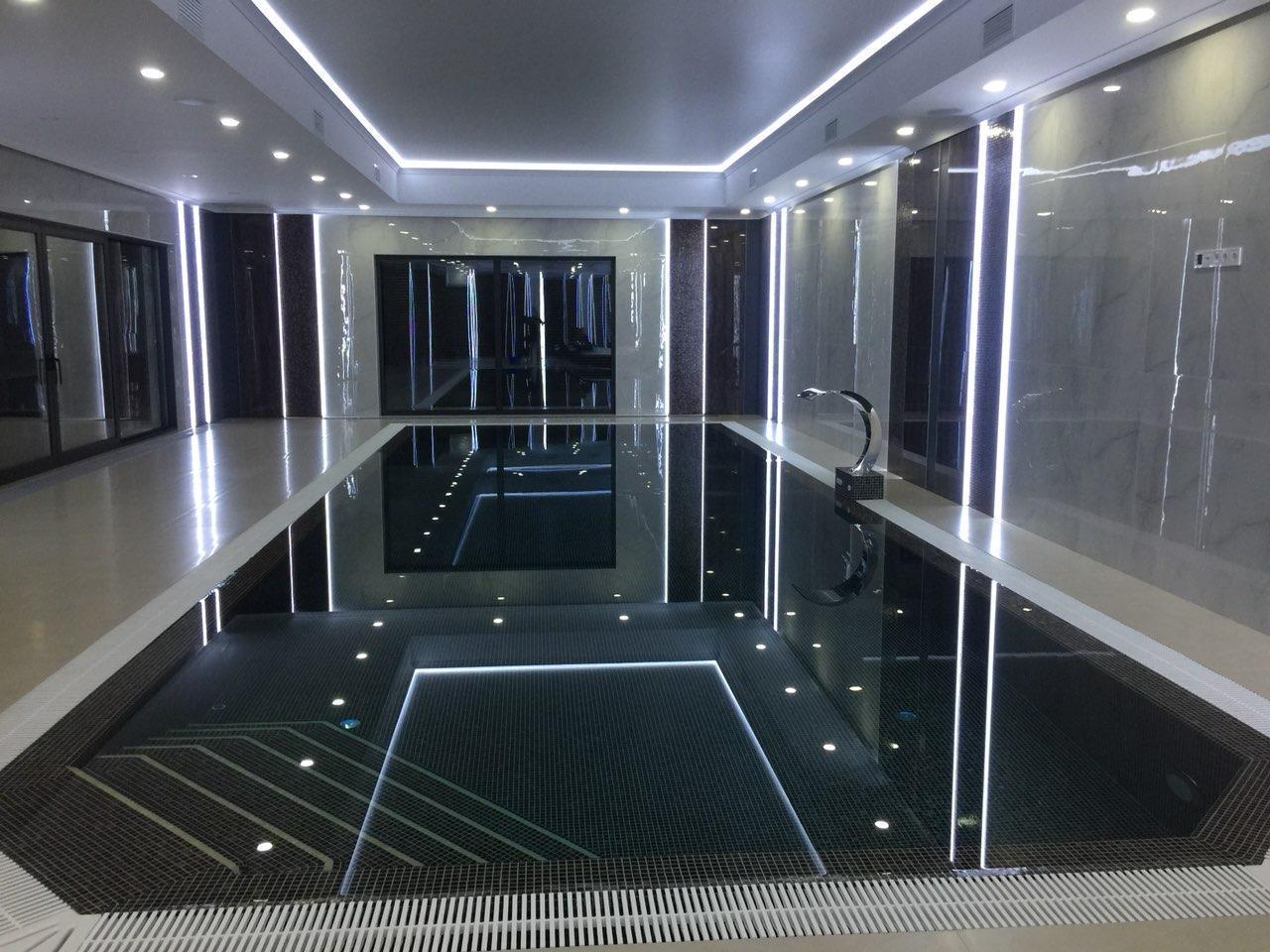 Полипропиленовый бассейн прямоугольный - 20,0 x 4,0 x 1,5 м ПОД КЛЮЧ!