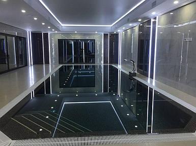 Поліпропіленовий басейн прямокутний - 20,0 x 4,0 x 1,5 м ПІД КЛЮЧ!