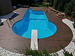 Полипропиленовый бассейн от производителя - 20,0 x 4,0 x 1,5 м ПОД КЛЮЧ!, фото 2