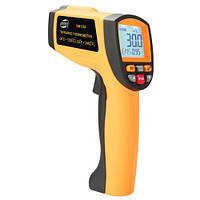 Бесконтактный инфракрасный термометр (пирометр)  -30-1350°C, 50:1, EMS=0,1-1  BENETECH GM1350