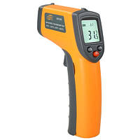 Бесконтактный инфракрасный термометр (пирометр)  -50-380°C, 12:1, EMS=0,95  BENETECH GM320