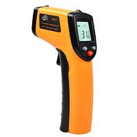 Бесконтактный инфракрасный термометр (пирометр)  -50-530°C, 12:1, EMS=0,95  BENETECH GM530