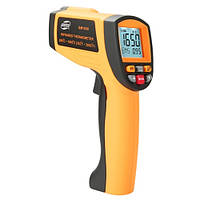 Бесконтактный инфракрасный термометр (пирометр)  200-1650°C, 50:1, EMS=0,1-1  BENETECH GM1650