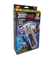 Универсальный Молоток Мультитул 18 В 1 Bell Howell Tac Tool