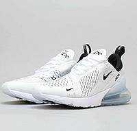 Кроссовки Nike Air Max 270 Белые White. Кроссовки Найк аир макс 270. Унисекс.