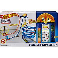 Детский Игровой Набор Хот Вилс Гоночный Трек Гонки по вертикали 3 варианта сборки Hot Wheels Track Builder
