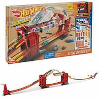 Детский Игровой Набор Хот Вилс Трек Разводной мост красный Track Builder Bridge Stunt Kit Hot Wheels Mattel