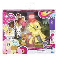 Детская Игровая фигурка Для Девочек Флатершай с аксессуарами Explore Equestria My little pony Hasbro Хасбро