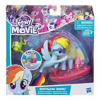 Детский Игровой Набор Для Девочек Подводный парусник Радуги Дэш Twilight Sparkle My little Pony Hasbro Хасбро
