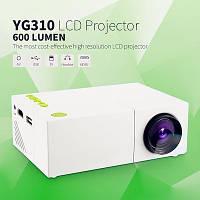 🎁 Мини проектор, Видеопроектор, Excelvan YG310, Мини LED проектор YG-300.  YG-310 Мини проектор | AG470171