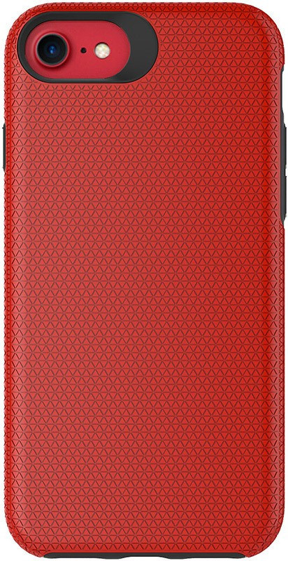 Чохол-накладка TOTO Triangle TPU+PC Case Apple iPhone 7/8 Red #I/S