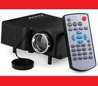 🎁 Портативный мультимедийный Led проектор UC28+. Мини проектор портативный мультимедийный Led Projector UC28+ | AG470234