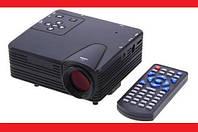 🎁 Led Видеопроектор, домашний кинотеатр. Led Projector W662 H80 Мини проектор портативный мультимедийный  | AG470235