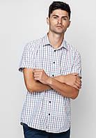 Рубашка Arber 43 Белый с голубым (AJ 04.11.20_43/182)