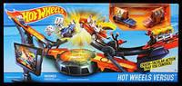 Детский Игровой Набор Хот Вилс Скоростная трасса Супер гравитация с 2 машинками с креплением Hot Wheels Mattel