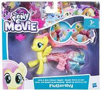 Детский Игровой Набор Для Девочек Пони в волшебных платьях Fluttershy My little pony the Movie Hasbro Хасбро