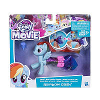 Детская Игрушка Для Девочек Май Литтл Пони Пони в волшебных платьях Rainbow Dash My Little Pony Hasbro