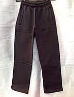 Теплые спортивные штаны для мальчиков на байке размеры: 116, 122, 128, 134