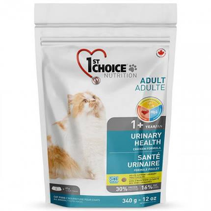 Сухой корм 1st Choice Urinary Health для кошек от 1 года, склонных к мочекаменной болезни, 5.44 кг, фото 2