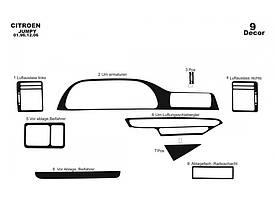 Накладки на панель (Meric) Citroen Jumpy 1996-2007 гг. / Накладки на панель Ситроен Джампи