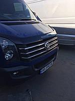 Накладки на решетку 2011↗ Volkswagen Crafter 2006-2017 гг. / Накладки на решетку Фольксваген Крафтер