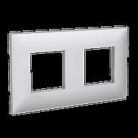 Рамка ARTLEBEDEV, Avanti, Закаленная сталь, 4 модуля, ДКС [4404904], фото 1