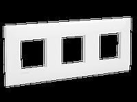 Рамка ARTLEBEDEV, Avanti, Белое облако, 6 модулей, ДКС [4400906], фото 1