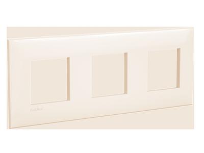 Рамка ARTLEBEDEV, Avanti, Ванильная дымка, 6 модулей, ДКС [4405906]
