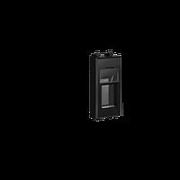 Адаптер для Keystone, Avanti, Черный квадрат, 1 модуль, ДКС [4402201]