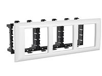 Рамка-суппорт Avanti для In-liner Front, белый, 6 модулей, ДКС [4400916]