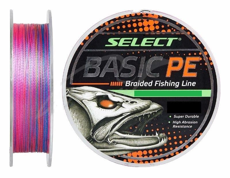 Шнур Select Basic PE 150m (разноцв.) 0,12мм 12LB/5,6kg