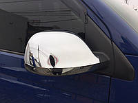 Volkswagen T5 Накладки на зеркала (хромированный пластик) / Накладки на зеркала Фольксваген Транспортер