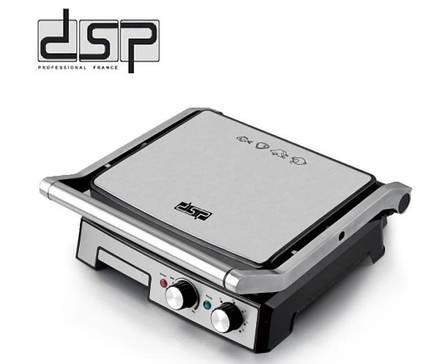 Электрический гриль DSP KB1036 с антипригарным покрытием 2000 Вт., фото 2