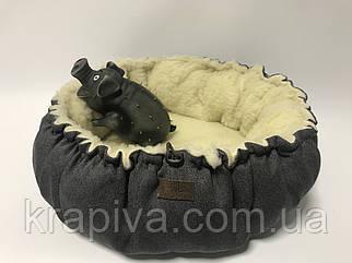 Лежанка для собаки кота, лежак для собаки кота, спальное место МЕБЕЛЬНАЯ ИЗНОСОСТОЙКАЯ ТКАНЬ