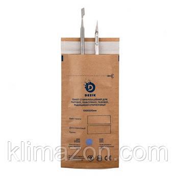 Набор крафт пакетов, коричневые 100*200мм