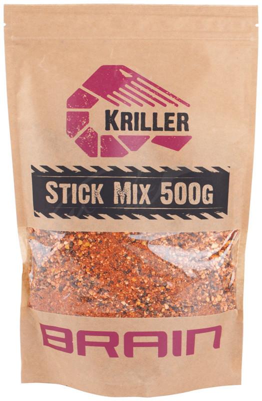 Стик Brain микс Kriller (креветка/специи) 500g