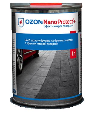 OZON Nano Protect+ 1L  - Ефект «мокрої поверхні»