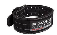 Пояс для пауэрлифтинга Power System Power Lifting PS-3800 M Black