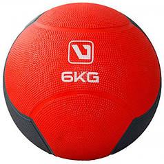 Медбол LiveUp Medicine Ball 6 кг Red (LS3006F-6)