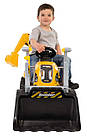 Детский педальный трактор с прицепом и двумя ковшами Smoby MAX 710301 для детей, фото 3