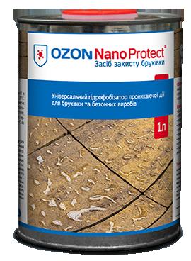 OZON Nano Protect  1L - Засіб захисту бруківки