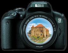 """Магнит-фотоапарат. Чинадієво Замок """"Сент-Міклош"""""""