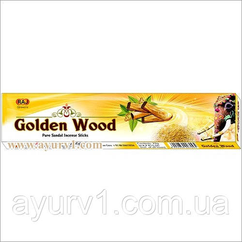 Аромапалички Пахощі Золотий сандал / Golden Wood Raj / 22 р