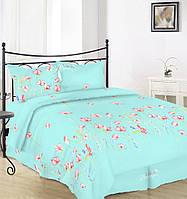 Комплект постельного белья Вилена бязь Голд двуспальный размер Life is beautiful