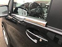 Mercedes Vito 447 Нижние молдинги стекол OmsaLine / Накладки на двери Мерседес Бенц Вито / V W447