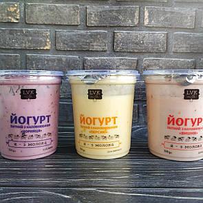 Йогурт питний з персиком 350г LVK milk