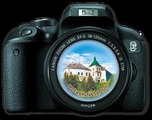 """Магнит-фотоапарат. Олесько. """"Олеський замок """""""