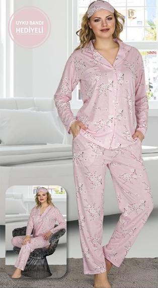 Красивый пижамный комплект Pink Flowers