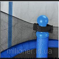 Батут Atleto 152 см с сеткой синий (5 ft), фото 2