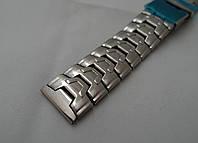 Браслет Steel до годинника - нержавіюча сталь, колір срібло, фото 1
